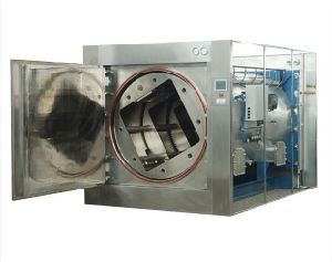 Fat Emulsion Rotary Autoclave Amino Acid Rotary Hot Water Sprinkling Sterilizer pictures & photos
