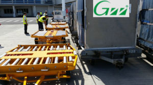 Container Pallet Dolly Trailer pictures & photos