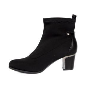 China Boots Newest Ladies Ankle Autumn Boots pictures & photos