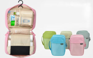 Waterproof Nylon Travelling Hook Toiletry Cosmetic Makeup Bag (MS7028) pictures & photos