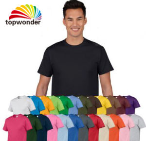 Custom T Shirt in Various Size, Logo, Material and Colors pictures & photos