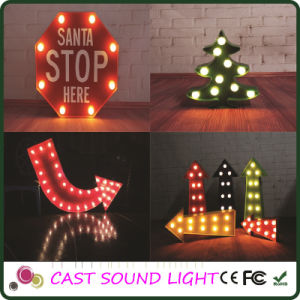 LED Letter Sign Fancy Light for Wedding/Party/Christmas Decoration pictures & photos