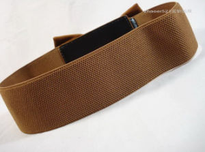 Elastic Band Belt Brown Waist for Women pictures & photos