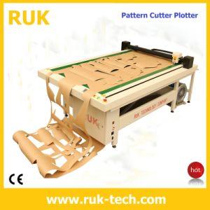 Flatbed Apparel Cutter Plotter (Sewing Machine CAD CAM Flatbed Cutter Plotter Template Pattern PVC Acrylic Sample Maker Cutting Machine)