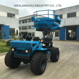 Agriculture Loader Tractor 18 HP 2 Tons Usded in Palm Oil Farm pictures & photos
