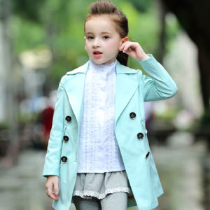 New Fancy Western Wear Worsted Winter Jacket Kids Coat pictures & photos