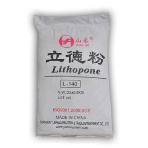 Rubberlith Lithopone Zinc Sulfide Mixed with Barium Sulfate (L-140) pictures & photos
