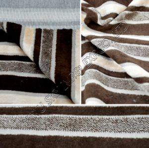 High Quality Fleece Furnishing Fabric W/Backing for Home Textile pictures & photos
