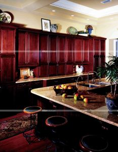 Fully Customized Traditional Painted Kitchen Design, Painted Solid Wood Kitchen Cabinets, Wood Country Style pictures & photos