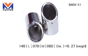 Exhaust/Muffler Pipe for BMW-X1, Made of Stainless Steel 304B pictures & photos