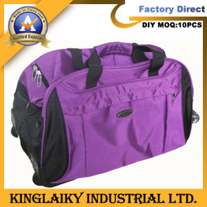 Personalized Promotional Trolley Traveling Bag with Logo (KLB-005) pictures & photos