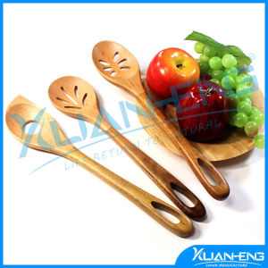 3 Piece Wooden Spoon Kitchen Cooking Utensils Tools pictures & photos