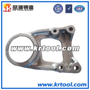 Customized Aluminium Alloy Die Casting of Engine Part Support pictures & photos