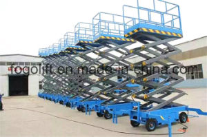 Mobile Warehouse Use Scissor Lift pictures & photos