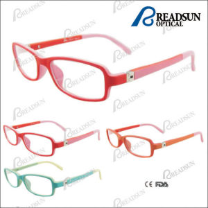 2015 Hot Sale Kids Optical Frames with Rubber Temple pictures & photos