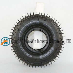 Rubber Wheel with Pneumatic Tyre (4.10/3.50-4) pictures & photos
