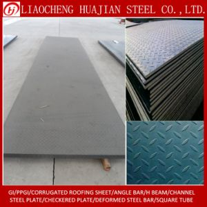 A36 Hr Carbon Checkered Plate From Lai Steel pictures & photos