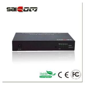Saicom(SCM-G4SS12) 10/100/1000M 1GX/4GE Ports Fsat/Gigabit Ethernet Optical Network Switch pictures & photos