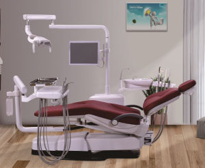 Hot Sale Left Hand Detist Dental Unit with CE pictures & photos