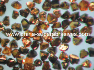 Black and Amber Color CBN Superabrasives Material