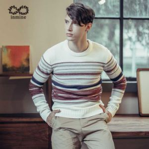 ODM Fashion Garment Stripped Man Sweater Pullover pictures & photos