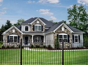 Ornamental Residential Wrought Iron Lawn and Garden Fence pictures & photos