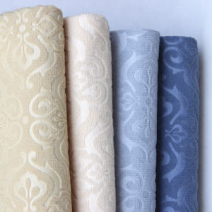 European Flocking Craft Velvet Fabric Sofa Fabric pictures & photos