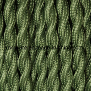 2-Conductor Green Cotton Twisted Wire pictures & photos