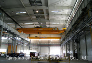 Prefabricated Steel Structure Building with Crane