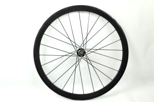 700C 3k 38mm Tubular Full Carbon Bicycle Wheels with Novatec Hub (BX-W38T)