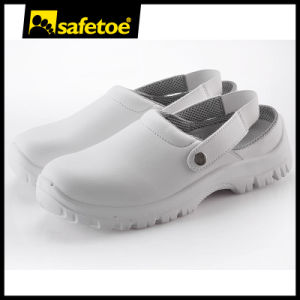 ESD White Kitchen Shoes (L-7096) pictures & photos