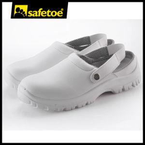 ESD White Kitchen Shoes (L-7096)