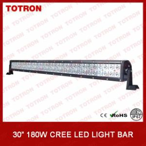 Super Bright Double Rows Offroad LED Light Bar with 3W CREE LEDs (TLB3180)