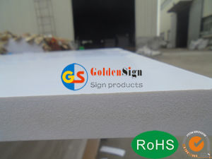 PVC Board with Width1.22m*Length2.44m for Advertising, Cabinet pictures & photos