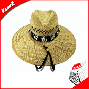 Natural Straw Hollow Straw Hat Sun Straw Hat pictures & photos