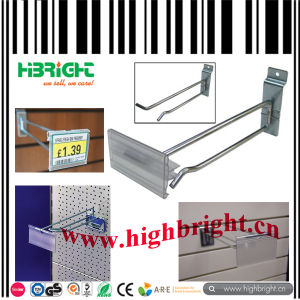 Metal Hook with Transparent Plastic Price Tag pictures & photos