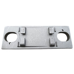 Ts-16949 Proved Steel Forging Machinery Part Custom-Made Forging Part for Rails-Tie-Plate 2 pictures & photos