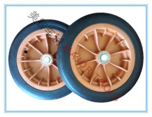 Rubber Solid Wheels, Trolleys, Wheels, 12 Inch Trash Cans, Wheels, and Other Special Tool Wheels pictures & photos