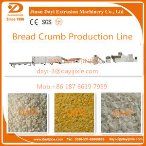 Puffed Extruded Bread Crumb Making Machine pictures & photos