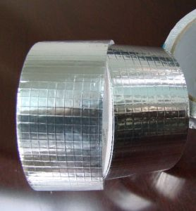 Aluminum Foil Grid Tape Fireproof and Heat Insulation pictures & photos