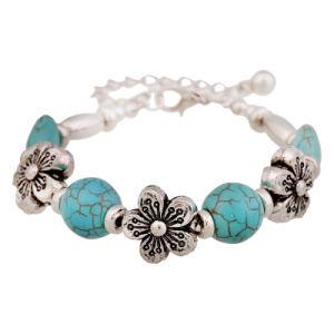 Turquoise Shamballa Bracelets, Natural Turquoise