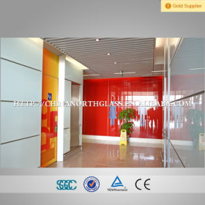 Toughened Silkscreen Printing Glass as Partition pictures & photos