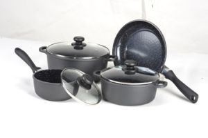 7PCS Aluminum Non-Stick Cookware Set
