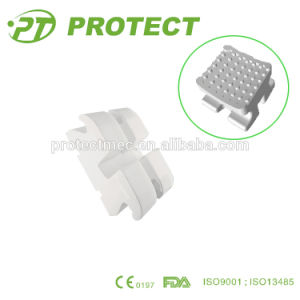 Dental Manufacturer Protect Orthodontic Ceramic Brackets with Hook