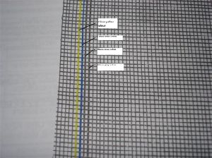 a Variety of Color Fiberglass Window Screen/ Net pictures & photos