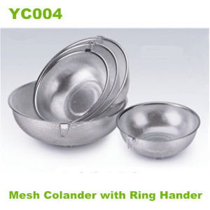 Stainless Steel Mesh Colander (YC004)