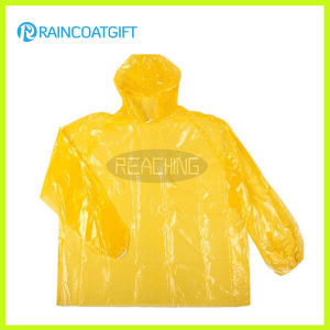 Cheap PE Disposable Raincoat (RVC-126) pictures & photos