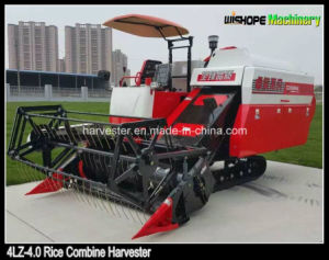 Chinese Manufacturing 4lz-4.0 Rice Combine Harvester Sales in Myanmar pictures & photos