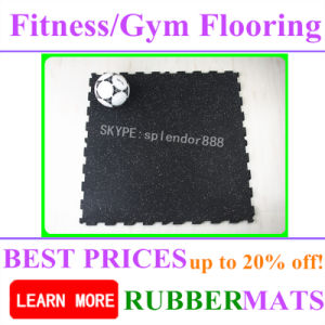 Sp Shockproof Fireproof Rubber Gym Flooring Roll Used Mat pictures & photos