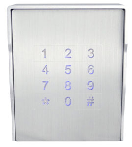Silver Aluminum Access Control Keypad pictures & photos